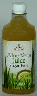 BAPS Amrut Aloe Vera Juice Sugar Free (500ml)