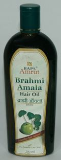 BAPS Amrut Brahmi Amala Hair Oil (200 ml)