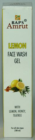 BAPS Amrut Lemon Face Wash Gel (100 ml)