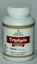 BAPS Amrut Triphala Tablets (100 grams)