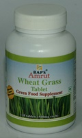 BAPS Amrut Wheat Grass Tablets (120 Tablets)