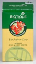 Bio Saffron Dew: Ageless Face & Body Cream (55 gms)