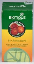 Bio Sandalwood: Face & Body Sun Cream (55 gms)