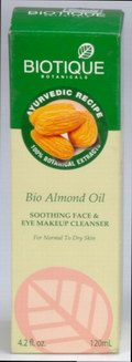 Bio Almond Oil: Soothing Face & Eye Makeup Cleanser (120 ml)
