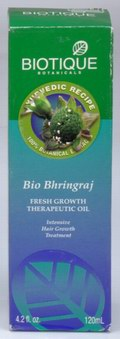 Bio Bhringraj: Fresh Growth Therapeutic Oil (120 ml)