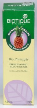 Bio Pineapple: Fresh Foaming Cleansing Gel (120 ml)