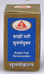 Brahmi Vati Suvarnayukta Tablets (10 Tablets), Shree Dhootapapeshwar Ltd., Shree Dhootapapeshwar Ltd., DISEASE, Madanapalas