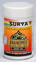 Brainomed Tablets (A Herbal Remedy For Brain & General Health) (50 Tablets)