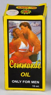 Commando Oil (15 ml), Dr.Asma Herbals, Dr.Asma Herbals, MASSAGE OILS, Madanapalas