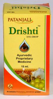 Drishti Eye Drops (15 ml), Patanjali Ayurved, Patanjali Ayurved, EYE DISEASES, Madanapalas