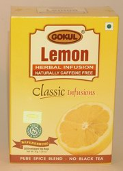 Gokul Herbal Infusion Lemon (20 Tea Bags), Gokul, Gokul, AYURVEDIC TEAS, Madanapalas