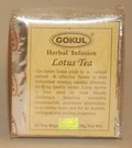 Gokul Herbal Infusion Lotus Tea (20 Tea Bags)