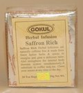 Gokul Herbal Infusion Saffron Rich (20 Tea Bags)