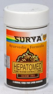 Hepatomed Tablets (A Herbal Cure For Liver Diseases) (50 Tablets), Surya Pharmaceuticals, Surya Pharmaceuticals, DYSPEPSIA, Madanapalas