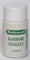 Kaishore Guggulu (80 Tablets)