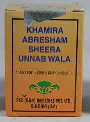 Khamira Abresham Sheera Unnab Wala (60 grams), Rex Remedies, Rex Remedies, ANXIETY, Madanapalas