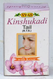 Kinshukadi Tail with Kesar (12 ml), Vyas Pharmaceuticals, Vyas Pharmaceuticals, SKIN CARE, Madanapalas