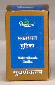Makardhwaja Gutika (30 Tablets), Shree Dhootapapeshwar Ltd., Shree Dhootapapeshwar Ltd., FATIGUE, Madanapalas