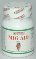 Mig Aid Tablets (75 Tablets)