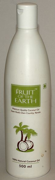 Fruit of The Earth 100% Natural Coconut Oil (500 ml)