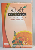 Orange and Tulsi Soap (100 grams)