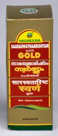 Saaraswathaarishtam with Gold (25 ml)