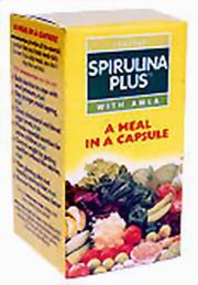 Spirulina Plus (60 Capsules), Goodcare Pharma, Goodcare Pharma, SINGLE HERBS, Madanapalas