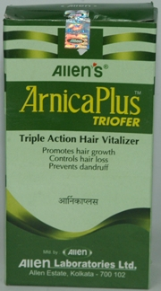 Arnica Plus Triofer (100 ml + 50 Tablets), Allen Laboratories, Allen Laboratories, DANDRUFF, Madanapalas