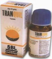 Tranquil (250 Tablets), SBL Homeopathy, SBL Homeopathy, HOMEOPATHY, Madanapalas