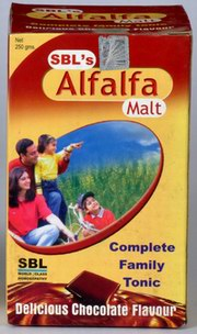 Alfalfa Malt (250 grams), SBL Homeopathy, SBL Homeopathy, ANXIETY, Madanapalas