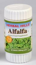 Alfalfa Tablets (Green Food Supplement) 60 Tablets