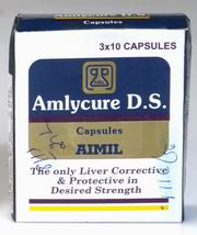 Amlycure D.S Capsules (30 Tablets), AIMIL Pharmaceuticals Ltd, AIMIL Pharmaceuticals Ltd, INDIGESTION, Madanapalas