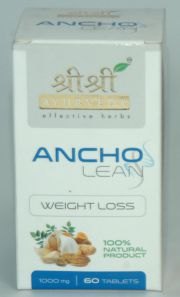 Ancho Lean (60 Tablets), Sri Sri Ayurveda Trust, Sri Sri Ayurveda Trust, WEIGHT GAIN, Madanapalas