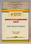 Arogyavardhini Vati (with Shudh Shilajeet) 40 Tablets (10 grams)