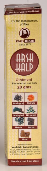 Arsh Kalp Ointment (20 grams), Vaidrishi Laboratories, Vaidrishi Laboratories, PILES, Madanapalas