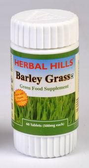 Barley food supplement