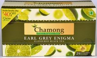 Chamong Earl Grey Enigma (Flavoured Black Tea) (25 Tea Bags)