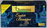 Chamong English Breakfast Tea (25 Tea Bags)
