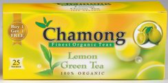Chamong Lemon Green Tea (25 Tea Bags)