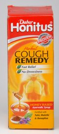 Dabur Honitus Herbal Cough Remedy (100 ml)