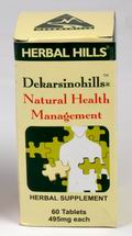 Dekarsinohills (Natural Health Management) 60 Tablets