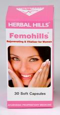 Femohills (Rejuvenating & Vitaliser for Women) 30 Soft Capsules