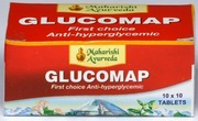Glucomap (100 Tablets), Maharishi Ayurveda Products, Maharishi Ayurveda Products, HERBAL MEDICINES, Madanapalas