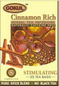 Stimulating Cinnamon Rich Tea (25 Tea Bags)