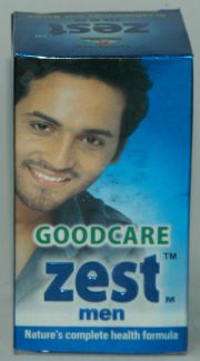 Goodcare Zest Men Capsules (60 Capsules), Goodcare Pharma, Goodcare Pharma, HIGH CHOLESTEROL, Madanapalas