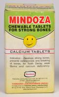 Mindoza - Chewable Calcium Tablets (50 Tabs.)