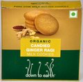 Organic Candied Ginger Ragi Milk Cookies