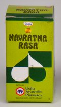 Navratna Rasa Gold Coated (30 Pills)