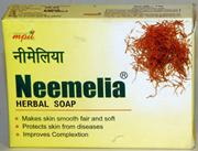 Neemelia Herbal Soap (75 grams), MPIL, MPIL, SKIN CARE, Madanapalas