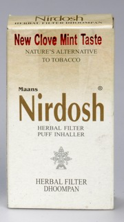Nirdosh Herbal Cigarettes (5 packets = 50 Herbal Cigarettes), Nirdosh, Nirdosh, HERBAL SMOKING, Madanapalas